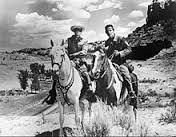 Lone Ranger & Tonto on horses