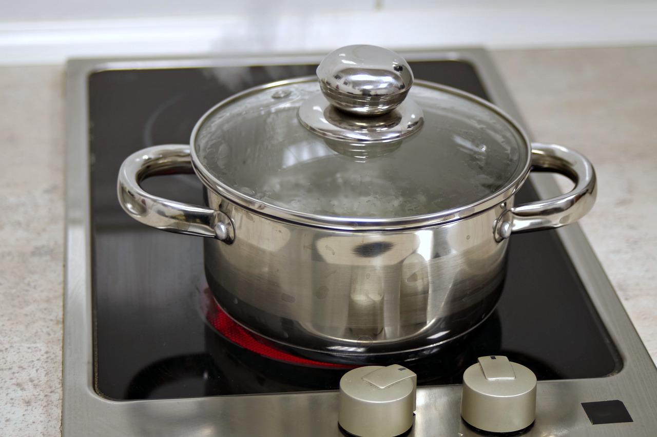 Beer polished cooking pot